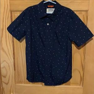 Youth short sleeve button down